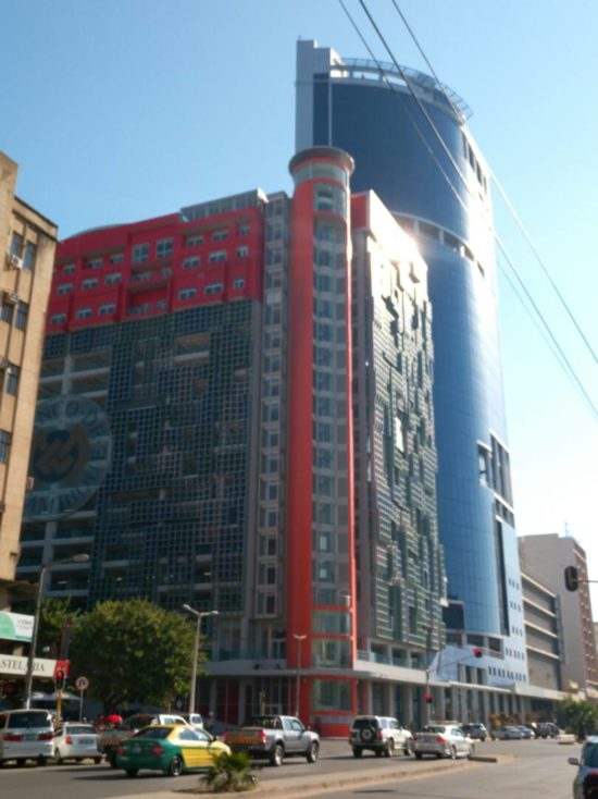 This is the Central Bank of Mozambique